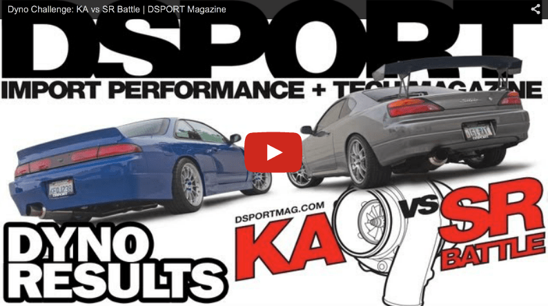 DSPORT Magazine KAvSR Challenge Dyno Battle