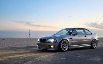 BMW e46 M3 on Enkei NT03+M Racing Series Wheels