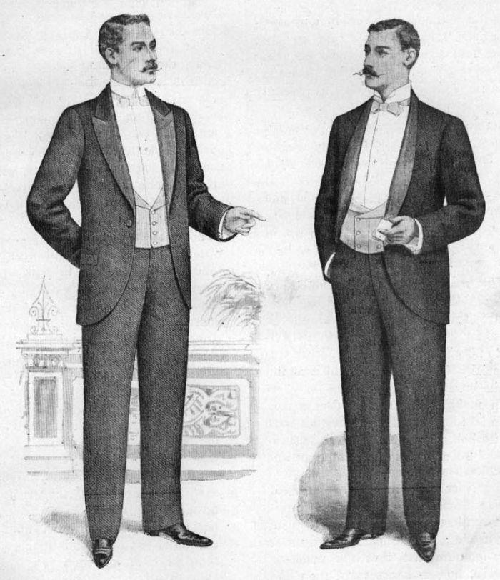 Engelske dinner jackets anno 1898