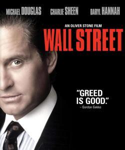 Michael Douglas som Gordon Gekk i Wall Street fra 1987. Klassisk hvitsnipp