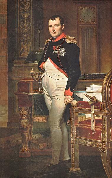 Napolean - med hånden godt innenfor vesten