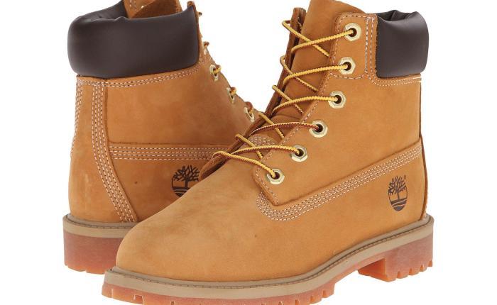 Timberlands Yellow Boot