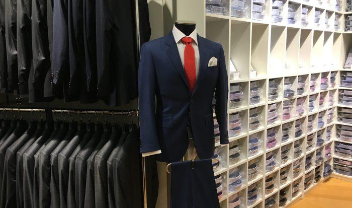 Menswears butikk på Tjuvholmen er ikke stor, men har stort utvalg
