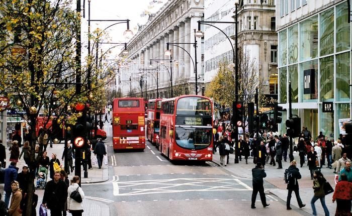 London – et mekka for herrestil