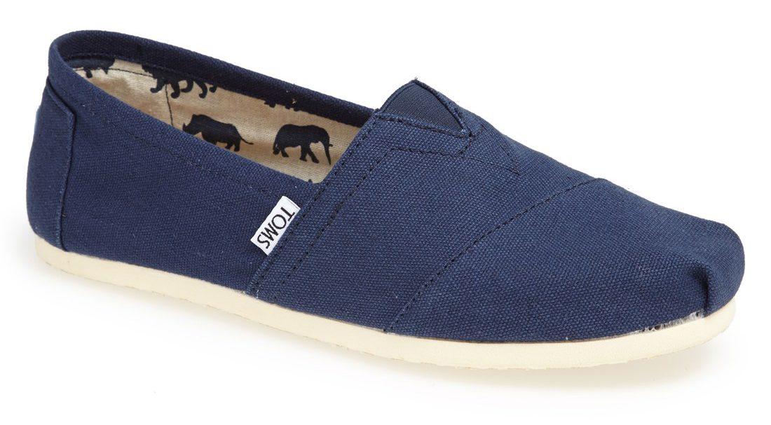 Dropp sandalene og gå heller for et par TOMS – Enkeltspent