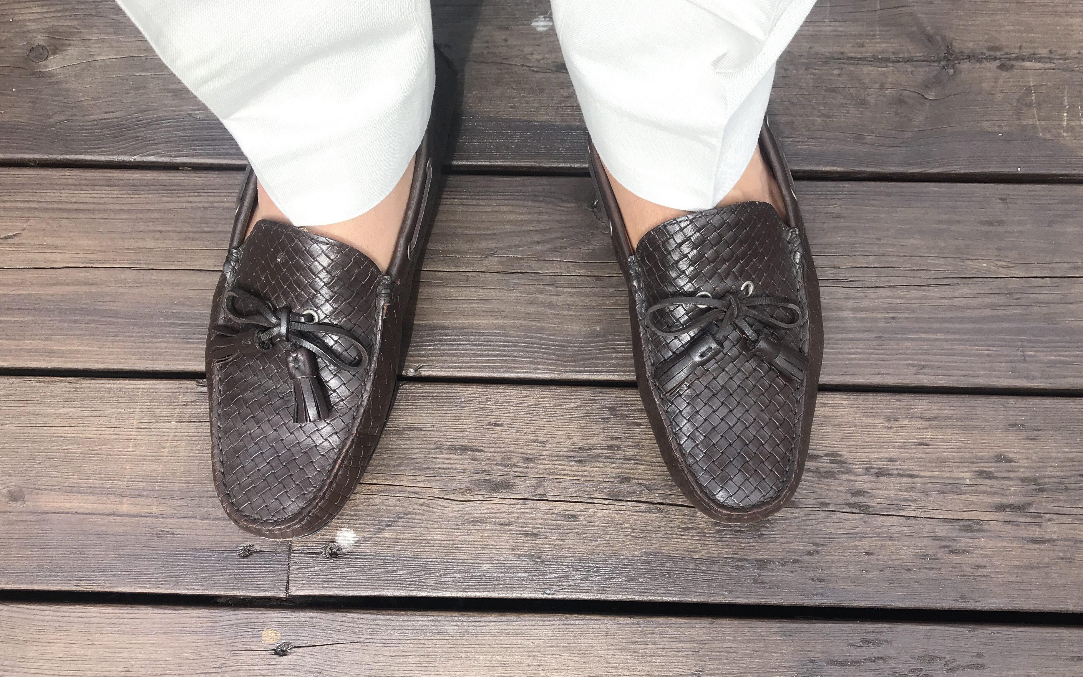 952626fd99bc Skoene passer perfekt til mine nye linbukser fra Suitsupply og en linblazer  – uten sokker