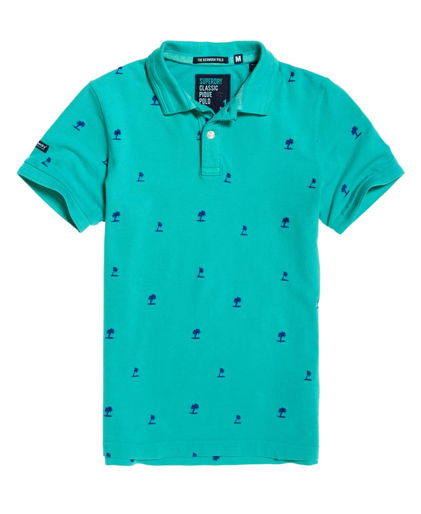 Superdry Ultimate Hounds kortermet skjorte Herre Skjorter
