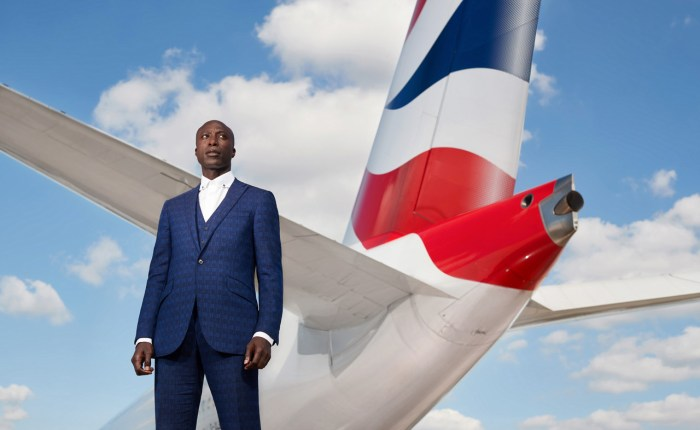Savile Row-skredder Ozwald Boateng skal designe uniformer for British Airways