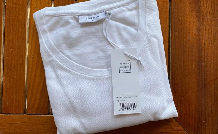 Hvit t-skjorte fra Labfresh