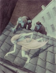 Walter Schnackenberg - escaping