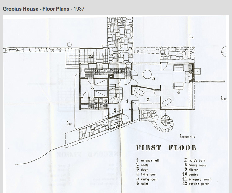 Gropius House à Lincoln