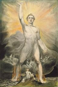 William Blake - Angel of the Revelation, ca. 1803–05
