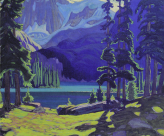 J. E. H. MacDonald - The lake O'Hara