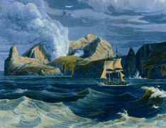 Sulphur Island (détail 1), published by John Murray, London - 1828