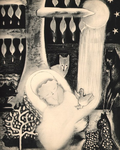 Nura Woodson Ulreich - The Buttermilk Tree, 1934