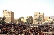 """Maisons typique de l'architecture """"Zabour"""" au Yemen - photo Piardoch"""