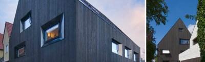SoHo Architektur : maison en bois à Memmigen, RFA