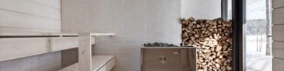 Avanto Architects : maison à Virrat en Finlande - sauna