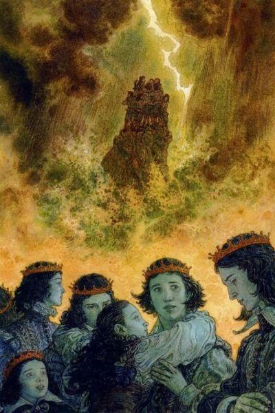 les Cygnes sauvages - illustration Anton Lomaev