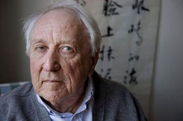 le poète suédois Tomas Transtromer le 31 mars 2011 à Stockholm