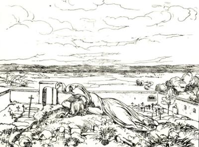 Lénore - illustration de Neureuther - 1855