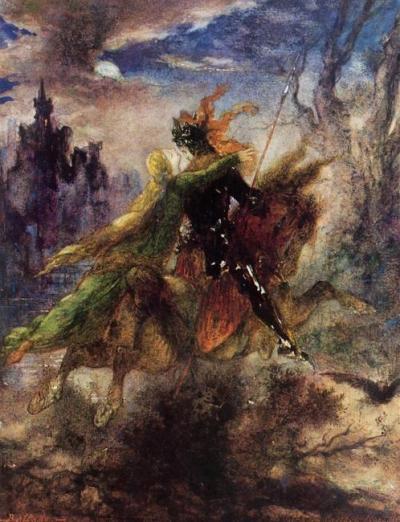 Léonore - Gustave Moreau -1885