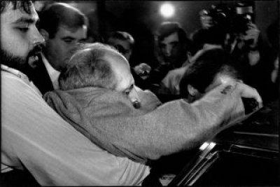 Franco Zecchin - Palerme, 1984 - Arrestation de l'ancuen maire Vito Ciancimino.