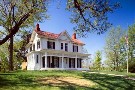 Exemple de maison géorgienne  : la maiosn de Frederick Douglass House