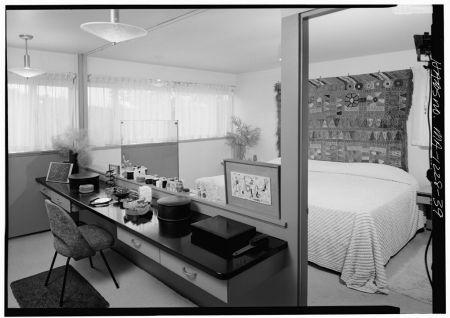 Gropius House à Lincoln - Dressing-room