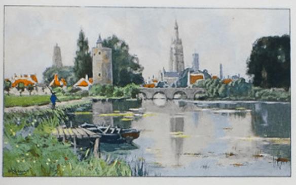 Henri Cassiers - Bruges