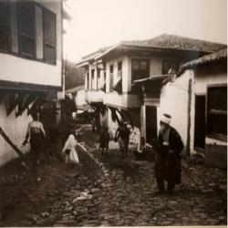 l'Istamboul de Pierre Loti entre 1903 et 1905 - maisons traditionnelles en bois