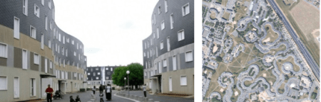 programme de logements sociaux La Grande Borne à Grigny - arch. Emile Aillaud
