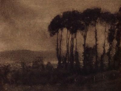 Vallée de la Toucques, 1906 - photographe Robert Demachy