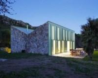Herreros Arquitectos – maison à Arta (Majorque), 2007 – façade N-O – photo José Hevia