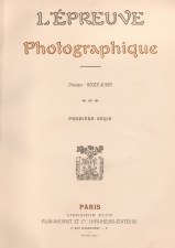 L'Epreuve photographique