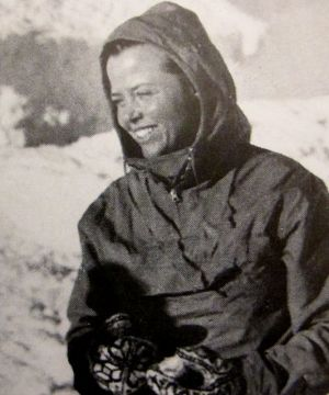 Charlotte Perriand au Mont Zao au Japon en 1941