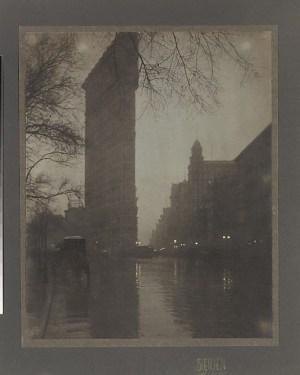 Edward J. Steichen - the Flatiron, 1904, printed 1905