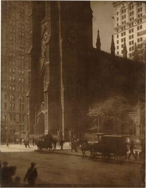 Edward J. Steichen - Trinity Church, 1904