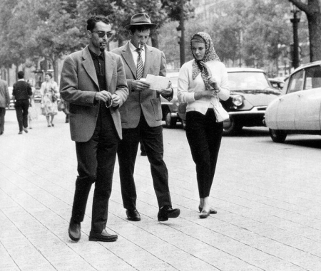 A Bout de Souffle - Jean-Luc Godard, Jean-Paul Belmondo et Jean Seberg