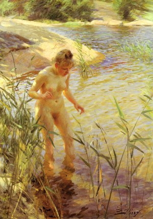 Anders Zorn - reflexer, 1889