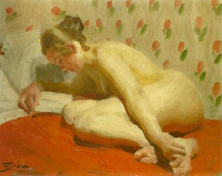 Anders Zorn - nakenstudio, 1910
