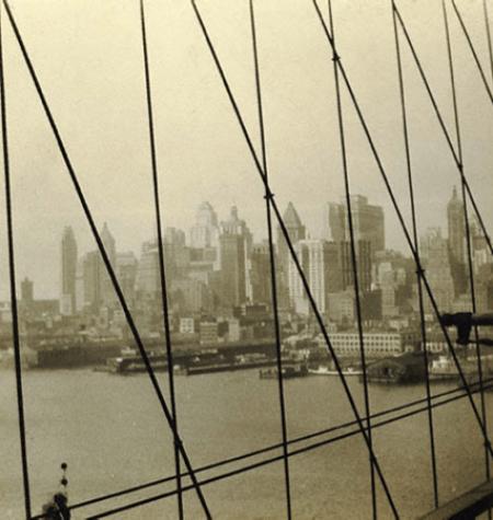 Walker Evans - Brooklyn Bridge, 1928-29 - Paul Getty muséum