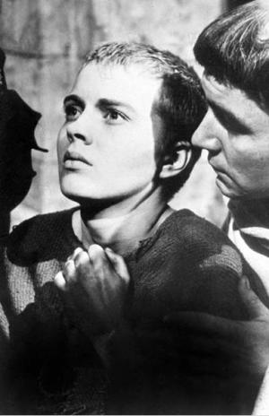 Jean Seberg dans Sainte Jeanne d'Otto Preminger