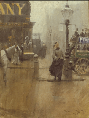 Anders Zorn - Impression de Londres, 1890