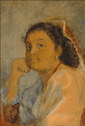 Anders Zorn - Spanish woman, 1879