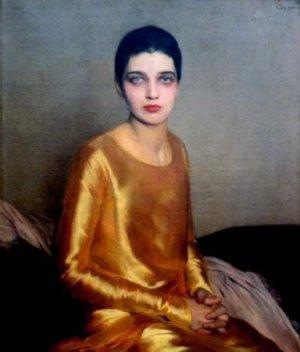 L'actrice Kay Francis en 1925 peinte par Sir Gerald Kelly