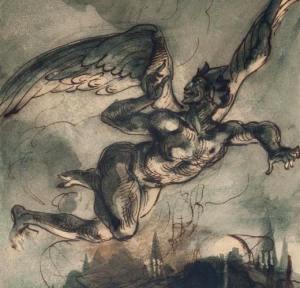Méphistophélès par Delacroix