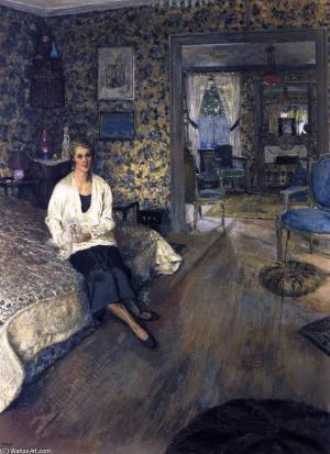 Edouard Vuillard - Comtesse Marie Blanche de Polignac, 1928-1932