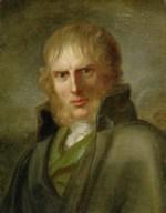 Portrait de Caspar David Friedrich (1774-1840) par Gerhard von Kügeigen, 1810-1820