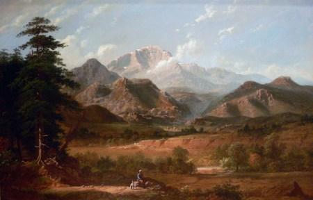 George Caleb Bingham - View of Pikes Peak, 1872